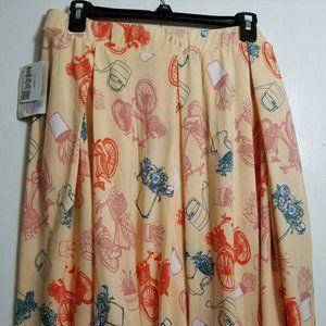 LuLaRoe 3XL Madison Skirt NWOT